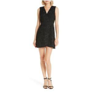 Alice Olivia Lennon lace mini dress